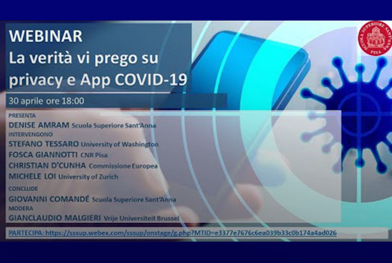 La verità vi prego su Privacy e App COVID-19